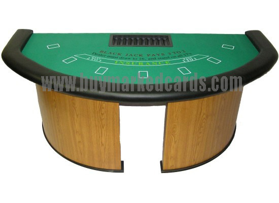 7 Player + Dealer BlackJack Table